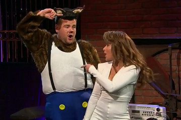 Paula Abdul and James Corden Recreated the 'Opposites Attract' Video