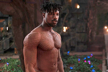 Michael B. Jordan Offers To Pay For Teen Girl's Retainer After She Broke It Seeing Him Shirtless In 'Black Panther'