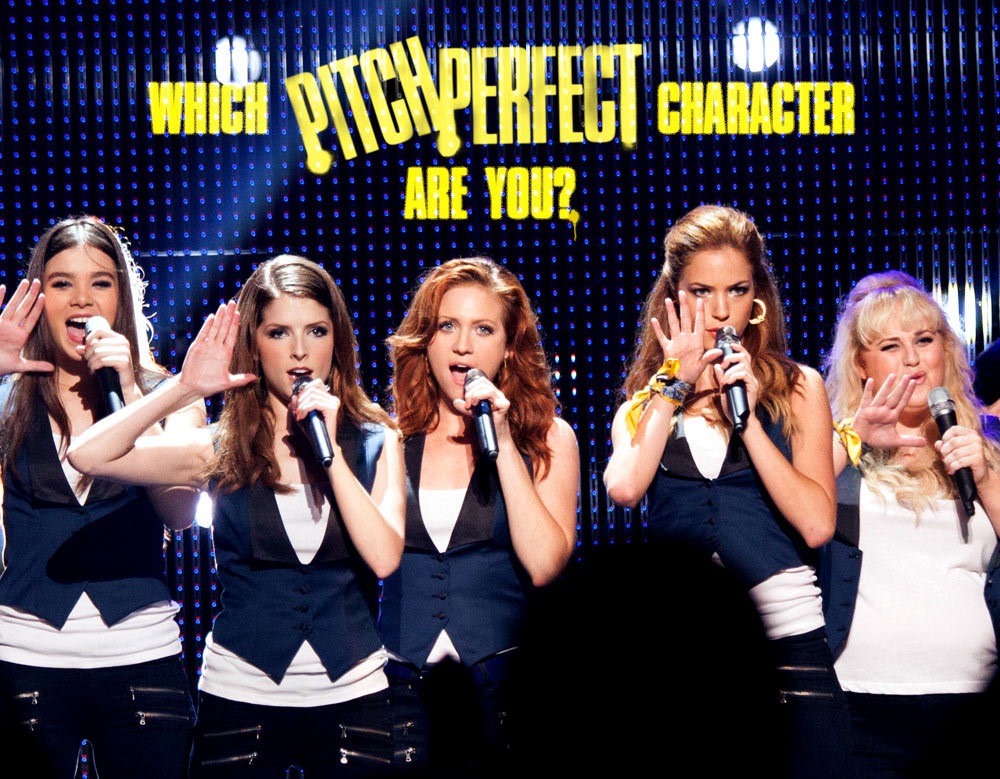 Which Pitch Perfect Character Are You? - Quiz - Zimbio