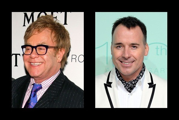 Elton John is dating David Furnish
