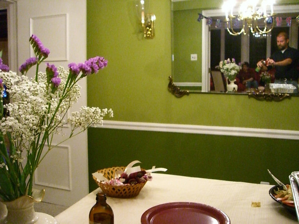Dining Room Two Tone Paint Ideas try two-toned - paint ideas for your dining room - zimbio