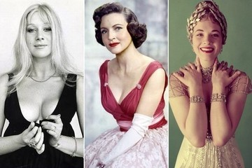 Then & Now: Hollywood Royalty