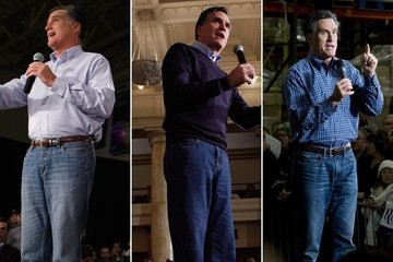 Is Mitt Romney Wearing 'Mom Jeans'