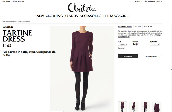 FINALLY: Aritzia Launches E-Commerce