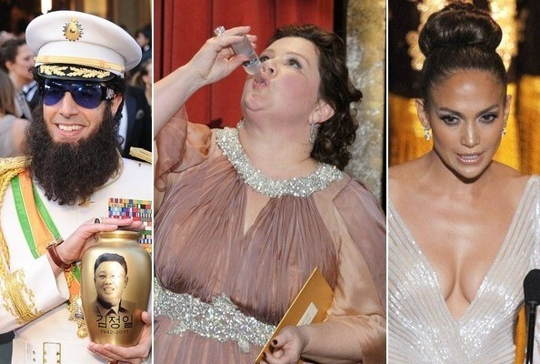 2012 Oscars' Most Memorable Moments