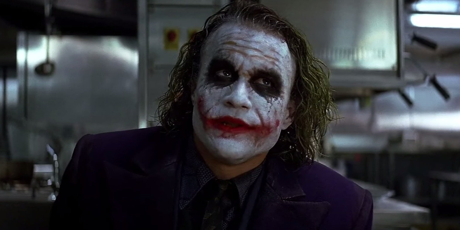 Heath Ledger The Dark Knight (2008)