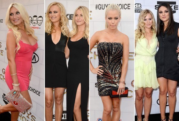 Spotted: Ladies Take Over the Red Carpet at Guys' Choice Awards - Celeb News