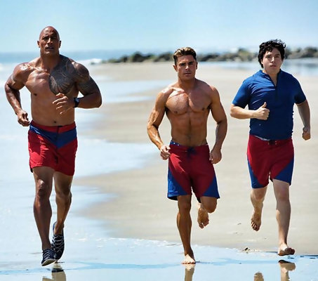 The 'Baywatch' Movie Gets Serious About Equal Opportunity Eye Candy