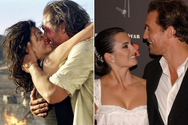 matthew mcconaughey and penelope cruz movie couples who