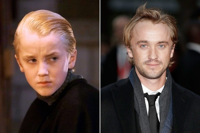 Tom Felton (Draco Malfoy) - Then and Now: The Cast of ...