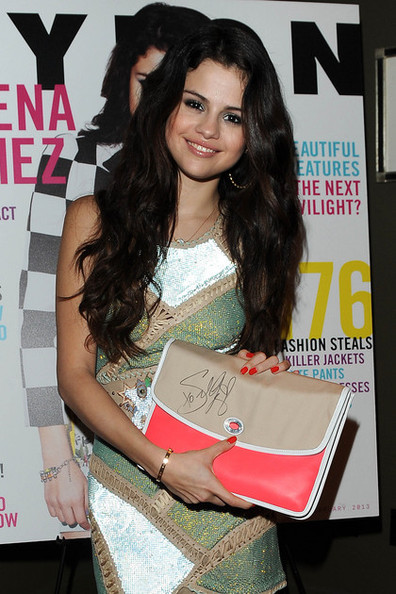 Selena Gomez Auctions Signed Coach Bag for UNICEF