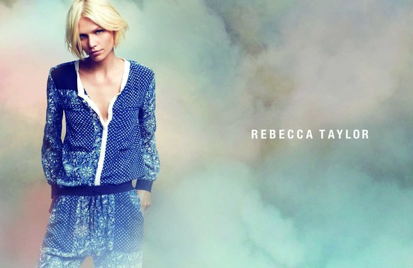 "Rebecca Taylor ""Color Bombs"" Her Spring Campaign"