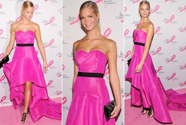 Look of the Day: Erin Heatherton Is Haute in Pink
