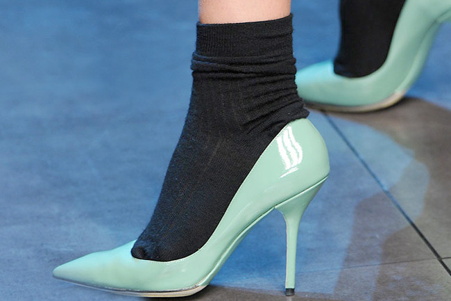 The Great Debate: Socks with Heels