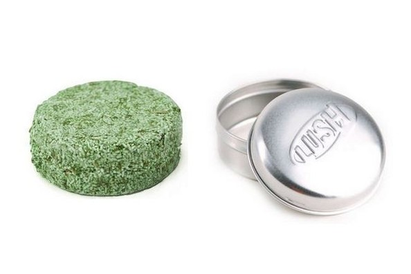 Current Obsession: Lush's Squeaky Green Solid Shampoo Bar