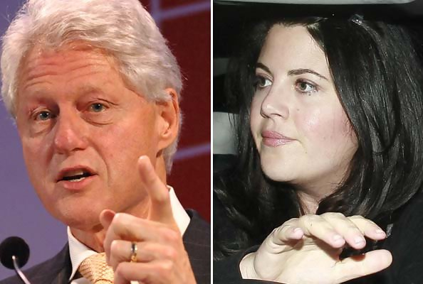 a look at the famous sex scandal involving monica lewinsky and president bill clinton