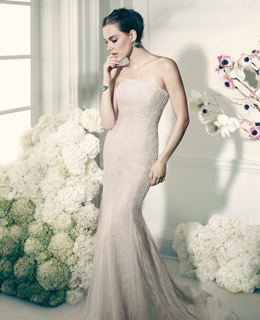 Finally! Zac Posen's Line for David's Bridal Launches Today