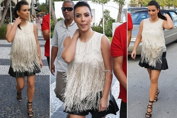 Love it or Loathe it: Kim Kardashian's Swingy Fringe Top