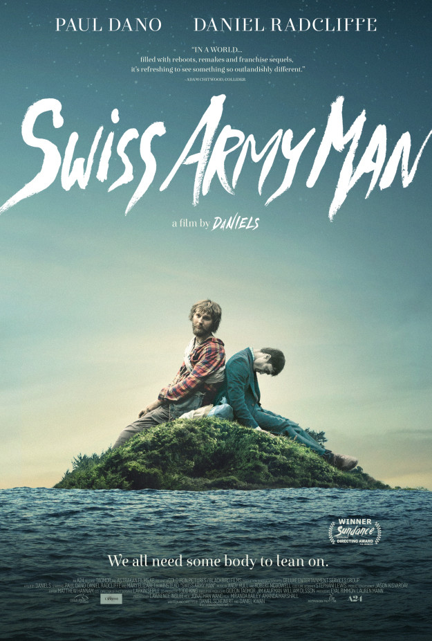 Daniel Radcliffe Plays a Farting Corpse in 'Swiss Army Man'