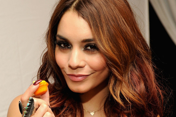 Vanessa Hudgens Chats Autumn Hair, Her Go-To Lip Color, and More!