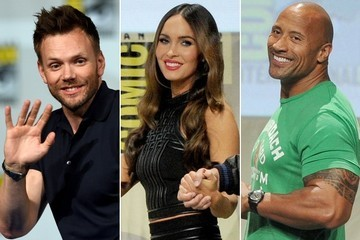 All the Celebrities at San Diego Comic-Con