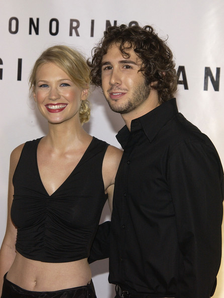 Remember When January Jones And Josh Groban Dated Back In The Day