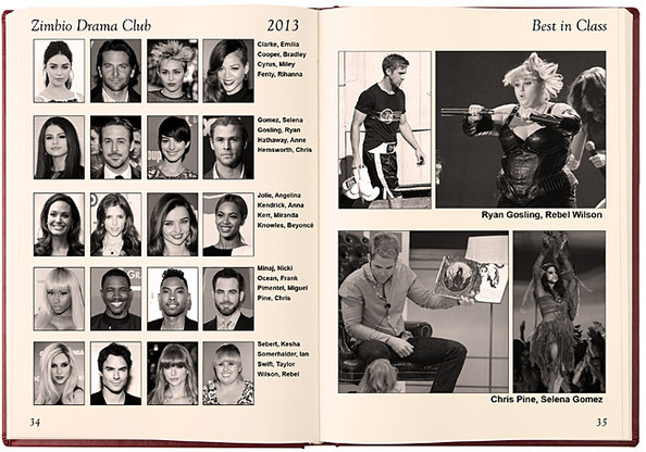 Zimbio Celebrity Yearbook: 2013