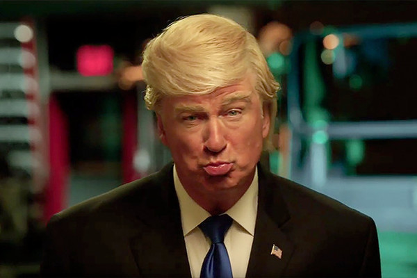 Alec Baldwin, anti-Trump extraordinaire, owes Trump thank-you for SNL Emmy