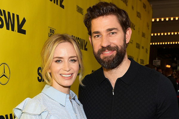 John Krasinski had to convince customs agent he's married to Emily Blunt
