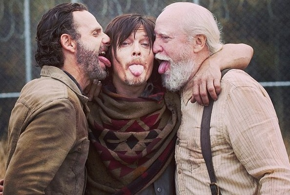 'The Walking Dead' Cast Is Really One Big, Goofy Family