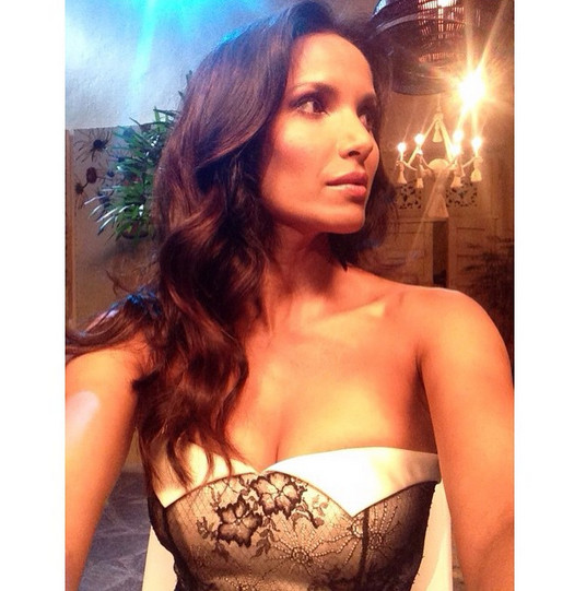 Padma Lakshmi got ready to reveal the 'Top Chef' winner