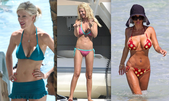 Celebrity Bikini Battle - Plastic Surgery Enthusiasts