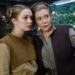 Carrie Fisher and Billie Lourd, 'Star Wars: The Force Awakens'