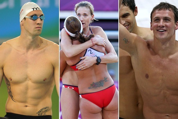 Body Art of the Olympics