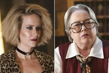 Sarah Paulson, Kathy Bates Earn Emmy Nominations for 'American Horror Story: Hotel'