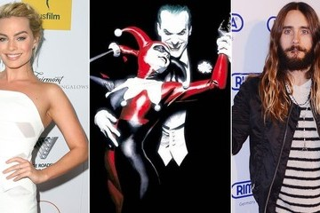 Margot Robbie and Jared Leto Might Be Playing Harley Quinn and the Joker in 'Suicide Squad'