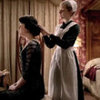 Being pampered at Downton