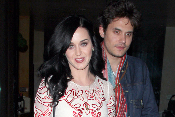 Katy Perry and John Mayer Have a Romantic Valentine's Dinner + Other Cute Outings! [PHOTOS]