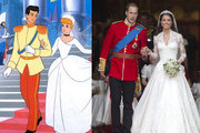 Prince+william+wedding+cinderella+comparison