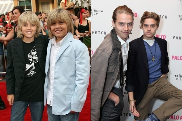 21 Pictures Of Disney Channel Stars Then Vs. Now That Are ... |Cole And Dylan Sprouse Then And Now