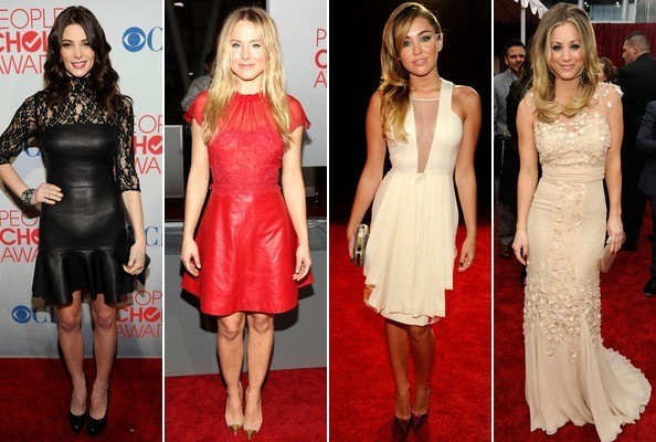 Who was best dressed at the 2012 People's Choice Awards?
