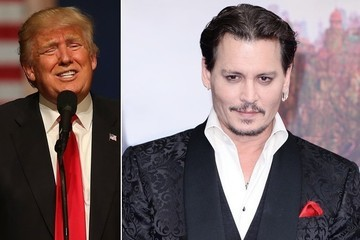 Johnny Depp Says a Trump Presidency Would End the United States