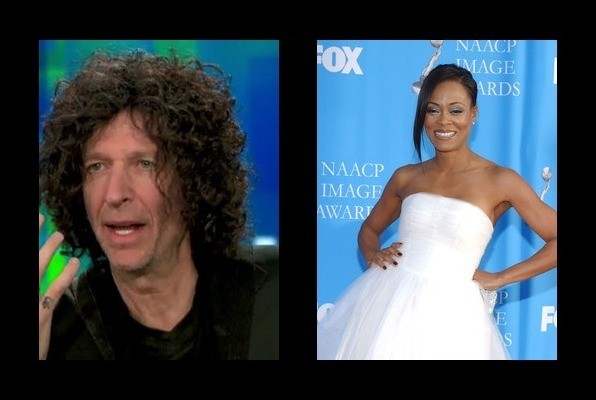 Howard Stern dated Robin Givens