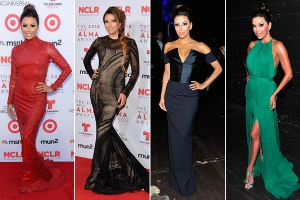 Eva Longoria Wore Eight Dresses at the ALMA Awards. Which One is Your Favorite?