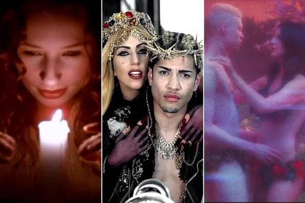 When Sex and Religion Mix in Music Videos