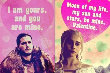 Give These Throwback Valentines to the 'Game of Thrones' Fan in Your Life
