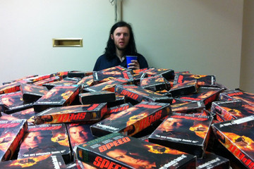 This Guy Is Trying to Collect EVERY Copy of 'Speed' on VHS