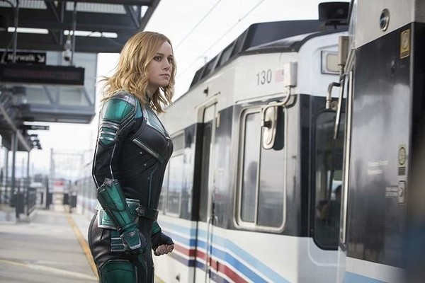 Brie Larson Shares 'Captain Marvel' Footage