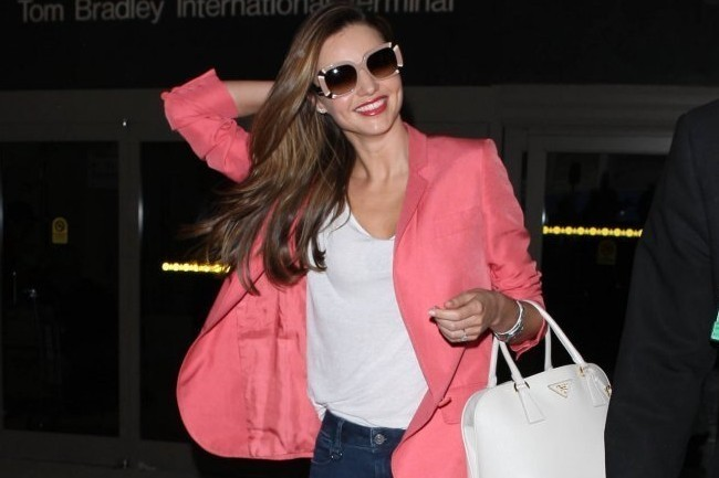 Miranda Kerr Wears Bootcut Jeans, We Don't Know How to Feel
