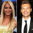 Julianne Hough Kissing Ryan Seacrest